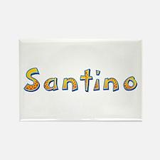Santino Giraffe Rectangle Magnet
