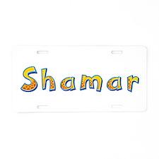 Shamar Giraffe Aluminum License Plate