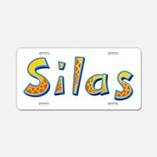 Silas Giraffe Aluminum License Plate