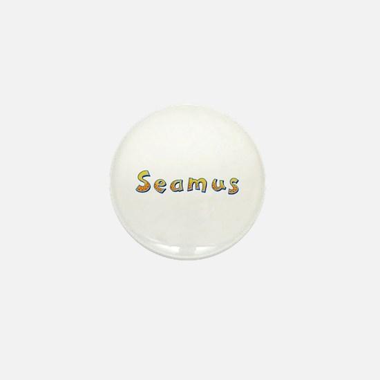 Seamus Giraffe Mini Button