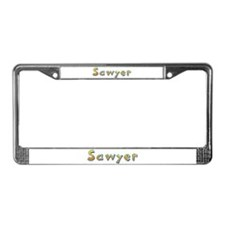 Sawyer Giraffe License Plate Frame