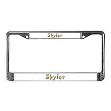 Skyler Giraffe License Plate Frame