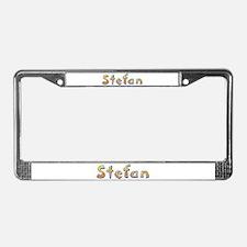 Stefan Giraffe License Plate Frame