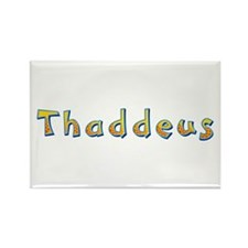 Thaddeus Giraffe Rectangle Magnet