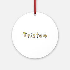 Tristan Giraffe Round Ornament