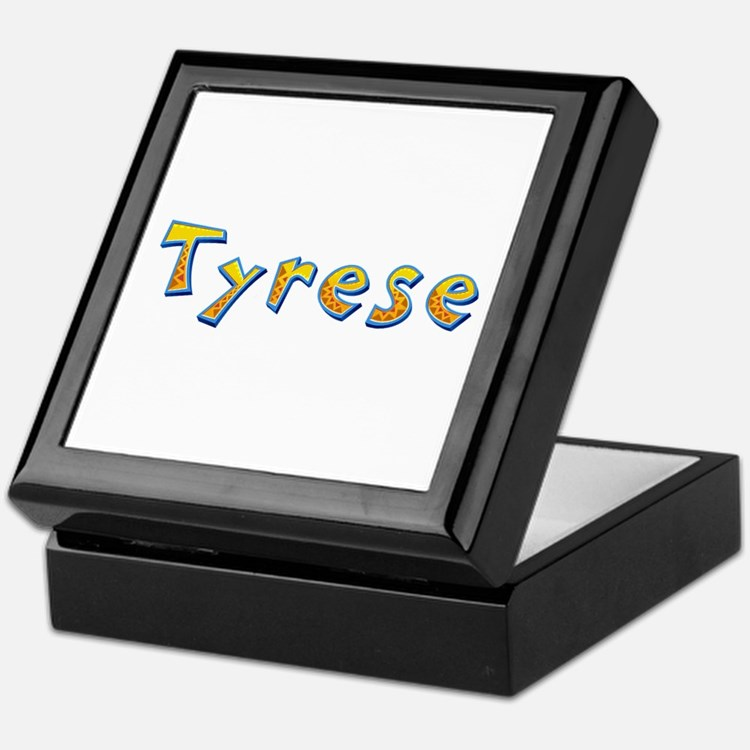 Tyrese Giraffe Keepsake Box