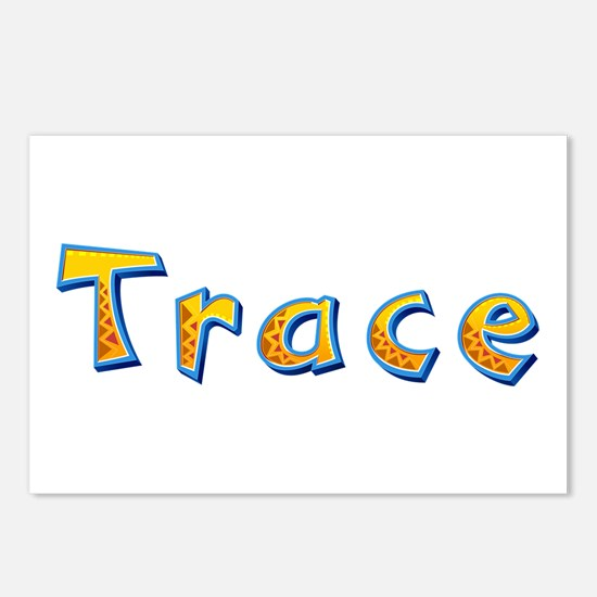 Trace Giraffe Postcards 8 Pack