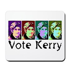 Vote Kerry Pop-Art Mousepad