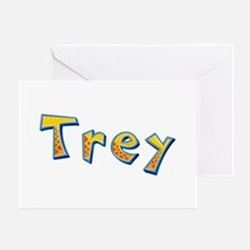 Trey Giraffe Greeting Card