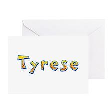 Tyrese Giraffe Greeting Card