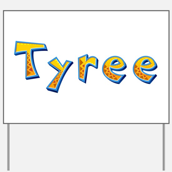 Tyree Giraffe Yard Sign