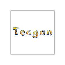 Teagan Giraffe Square Sticker