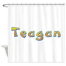 Teagan Giraffe Shower Curtain