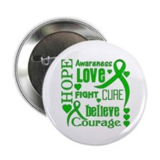 "Gastroparesis Hope Words 2.25"" Button (10 pack)"