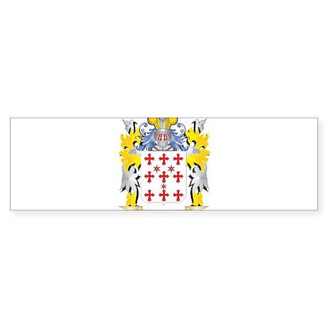 Bouffler Coat of Arms - Family Cres Bumper Sticker