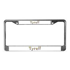 Tyrell Giraffe License Plate Frame