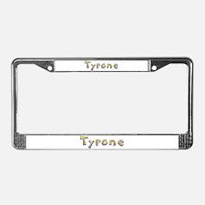 Tyrone Giraffe License Plate Frame