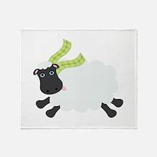 Sheep Wool Scarf Ireland Throw Blanket