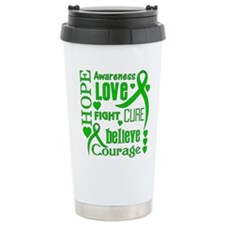 Glaucoma Hope Words Travel Mug