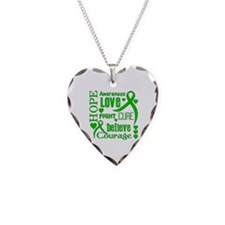 Glaucoma Hope Words Necklace