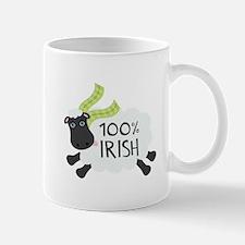 100% Irish Mugs