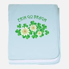 Erin Go Bragh baby blanket