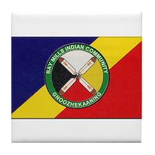 Bay Mills Indian Community Tile Coaster