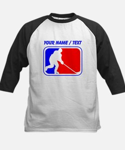 Custom Hockey League Logo Baseball Jersey