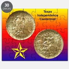 Texas Independence Coin Puzzle