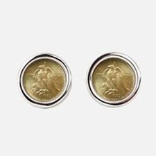 Texas Independence Coin Cufflinks
