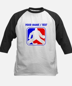 Custom Hockey Goalie League Logo Baseball Jersey