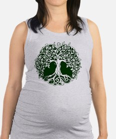 Tree of Life Maternity Tank Top