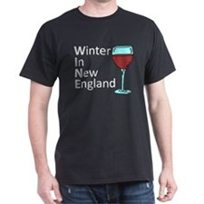 Wine - Winter In New England T-Shirt