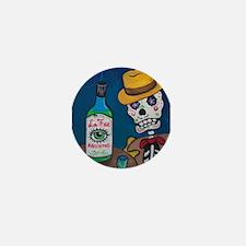 Los Muertos - Absinthe Drinker Mini Button