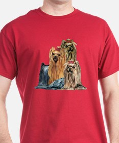Yorkshire Terrier Yorkie Collage T-Shirt