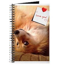 Fun Corgi Valentine Journal