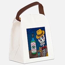 Los Muertos - Absinthe Drinker Canvas Lunch Bag
