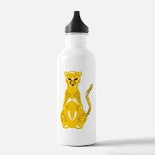 Jaguar Art Water Bottle