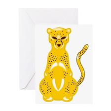 Jaguar Art Greeting Card