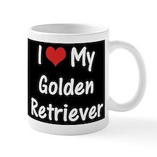 I Heart My Golden Retriever Mug