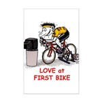 Love at First Bike T-shirt.png Posters