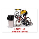 Love at First Bike T-shirt.png Postcards (Package