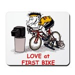 Love at First Bike T-shirt.png Mousepad