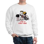 Love at First Bike T-shirt.png Sweatshirt