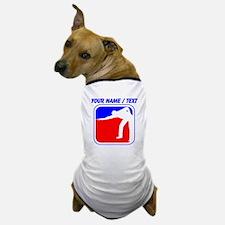 Custom Billiards League Logo Dog T-Shirt
