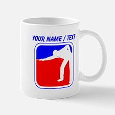 Custom Billiards League Logo Mugs