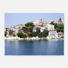Skiathos Island, Greece 5'x7'Area Rug