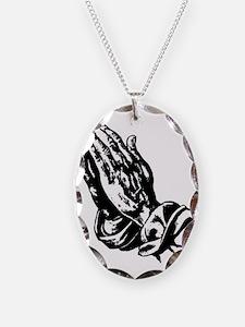 Faith Hands Necklace