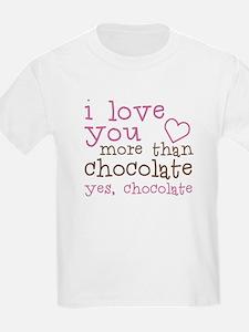 Love Chocolate T-Shirt