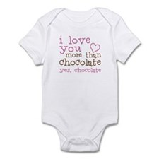 Love Chocolate Infant Bodysuit